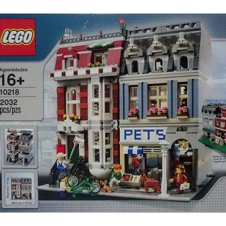 New Lego 10218 Modular Pet Shop Building Toy - 2032 pieces