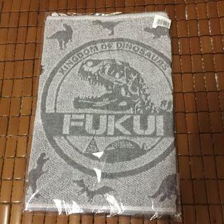 日本製恐龍跑步用毛巾,凹凸圖案設計