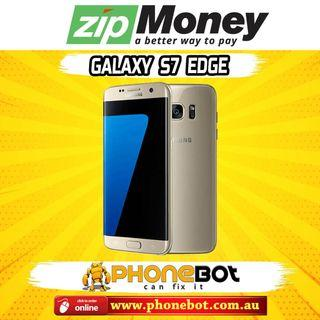 Gently Used Sasmung Galaxy S7 Edge 32GB Gold, 6 Months Warranty @ Phonebot