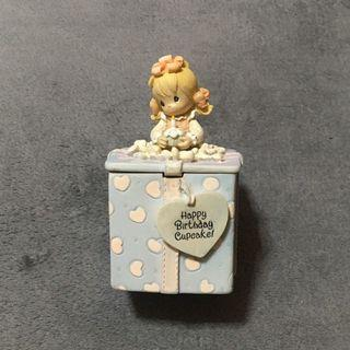 🚚 [二手大拍賣] 生日快樂 女孩飾品收納盒