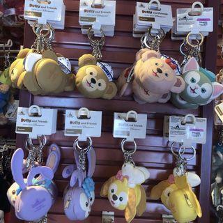 Duffy and friends keychain散紙包