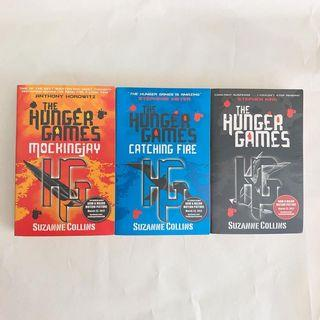 The Hunger Games - Suzanne Collins (Full Series)$30 each