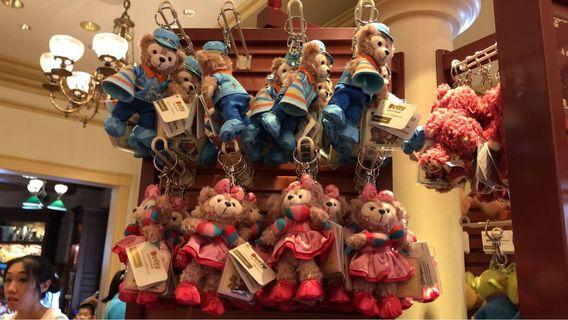 Duffy and friends keychain
