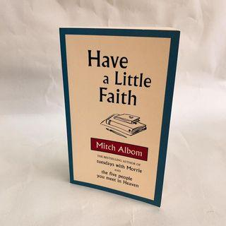 Have a little faith - Mitch Albom (Brand new book)