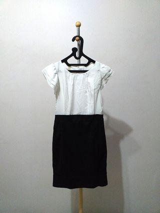 Black N' White Dress