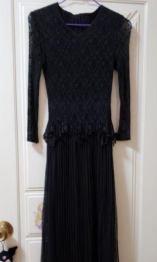 黑色連身裙、長身裙