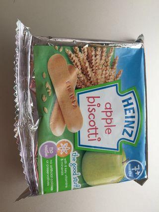 🚚 Heinz Apple biscotti @S$2 or 2 for S$3
