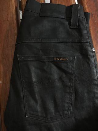 nudie black coated