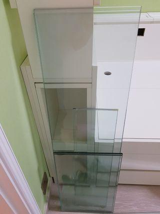玻璃架 (6件套件) clear glass frame (6 pieces set)