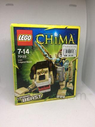 Genuine Original Lego Chima 70123 Lion Legend Beast New In Box