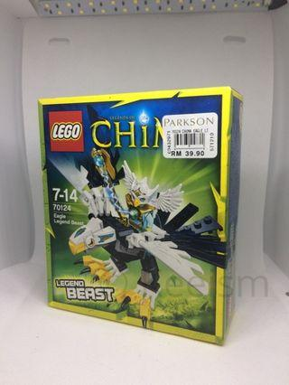Genuine Original Lego Chima 70124 Eagle Legend Beast New In Box