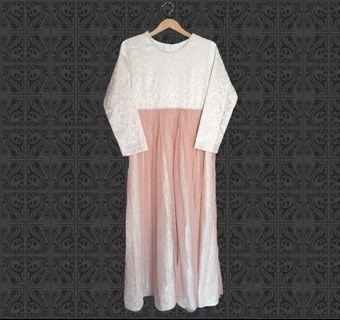 maxi dress (cream)