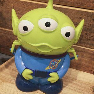 🚚 香港迪士尼帶回 玩具總動員 三眼怪爆米花桶