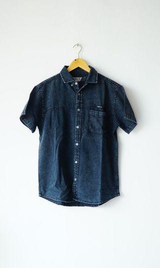 Denim Shirt April 77 size L