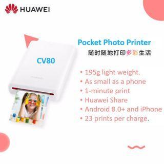 Huawei Pocket Photo Printer CV80 ZlNK (Tags: Portable LG PoPo, Fujifilm Instax Share, HP Sprocket, Kodak Mini, Polaroid Zip)
