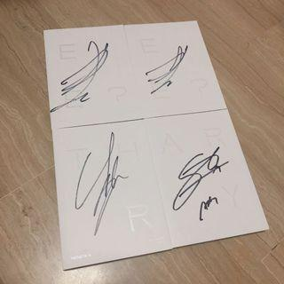 [wts] monsta x are you there signed album