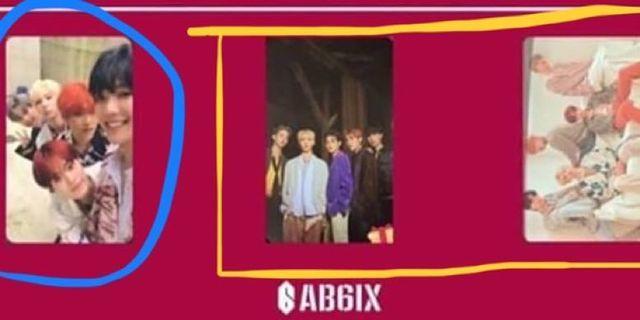AB6IX 專輯小卡 自拍團卡 換/售