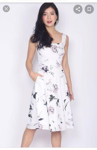 BNWT Square neck dress