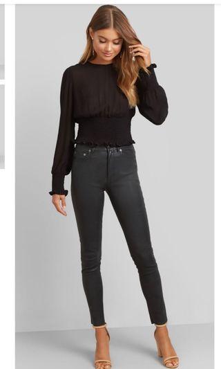 Kookai Soho Leather Pants 36 BNWT