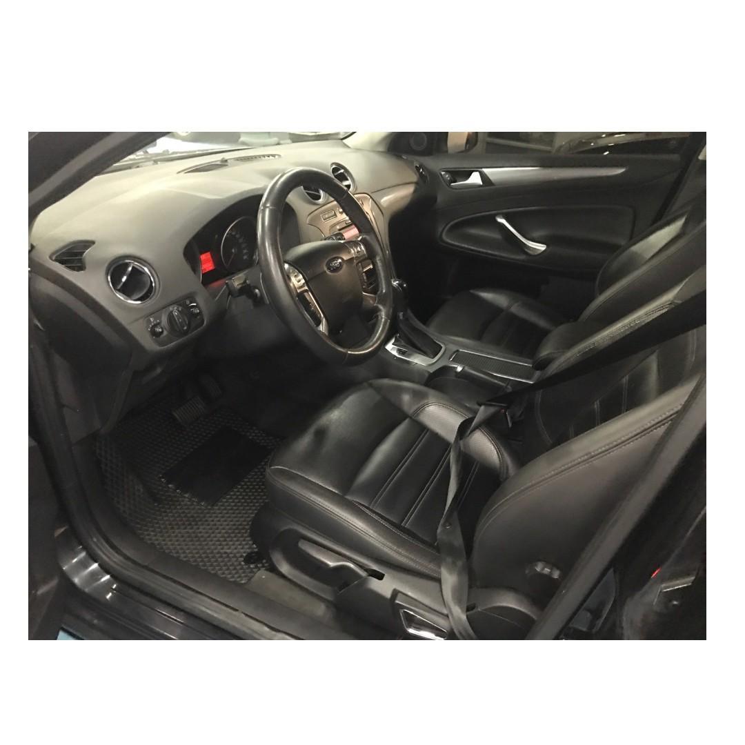 2013年福特 MONDEO黑色小改雙離合器! 非自售 一手 女用車~~~