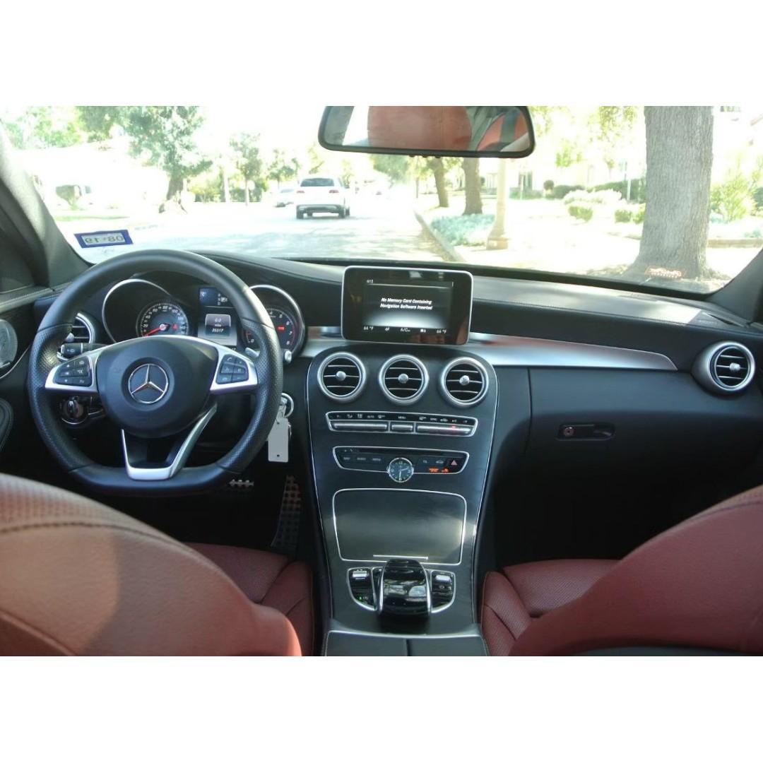 2015 C300 AMG 紅內裝