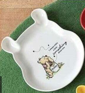 7-11迪士尼露營小熊維尼造型盤