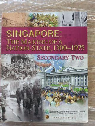 Secondary 2 History Textbook
