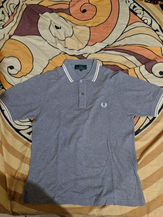 Polo FredPerry Grey
