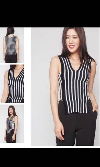 MDS Straits Top in stripes