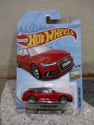 Hotwheels Audi RS 6 Avant