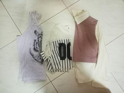 sale! Blouse, crop top and tank top