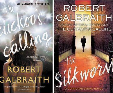 🚚 The Cuckoo's Calling & The Silkworm