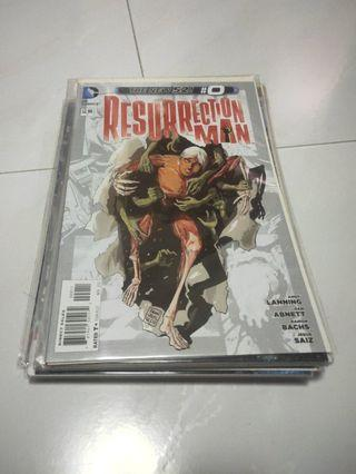 DC Comics New 52 Resurrection Man (Complete)