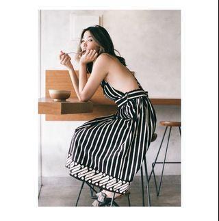 Liris Dress by KASMARAN INDONESIA. Like New cuma dipakai 1 X