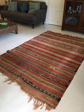 🚚 Handmade Moroccan rug