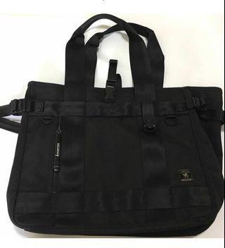 🚚 Porter magazine black canvas bag