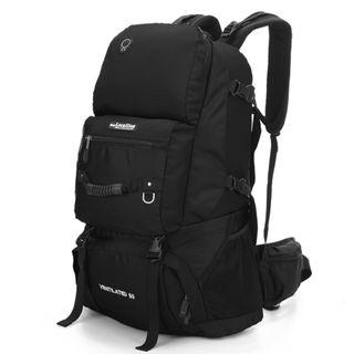 60L LocaI Travel Backpack Haversack Bag - With Bottom Shoe Compartment - New!