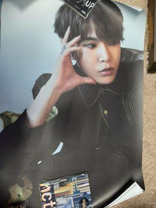 (WTS/WTT) NCT 127 SUPERHUMAN POSTER DOYOUNG