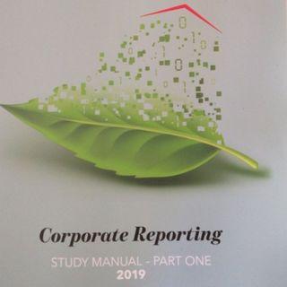 ICAEW 2019 Corporate Reporting