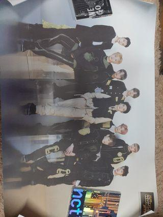 (WTS) NCT127 SUPERHUMAN ALBUM POSTER