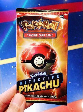 Detective Pikachu Limited Edition 2-Card Booster Pack