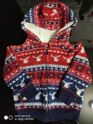 NEXT 聖誕版冷外套