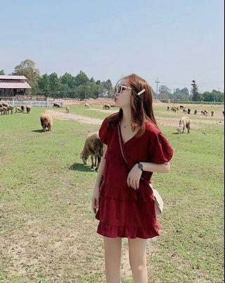 Anabelle red dress