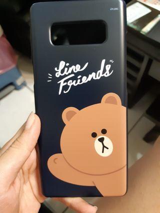 🚚 三星 Samsung note8 熊大 原廠手機殼