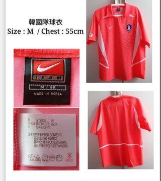 韓國隊球衣