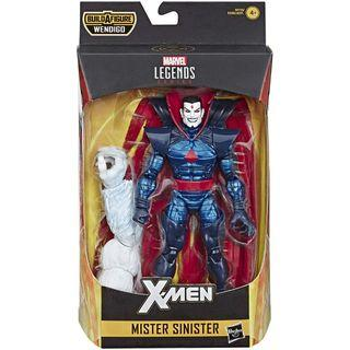 Marvel Legends X-Men 2019 Mister Sinister Wendigo BAF Rare