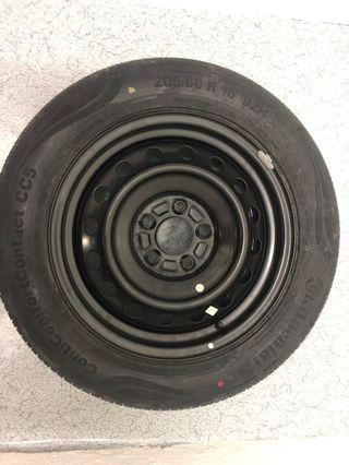 Rim spare size 16 with tyre