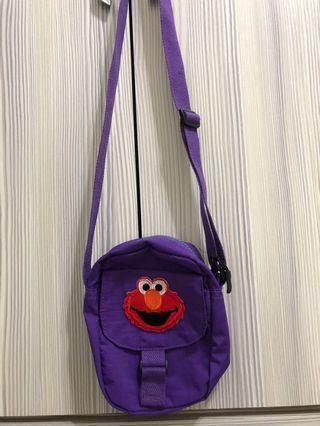 🚚 紫色elmo小包