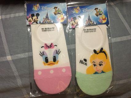 韓國Disney女裝船襪