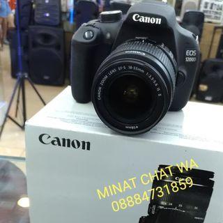 Kamera canon eos 1200d kit